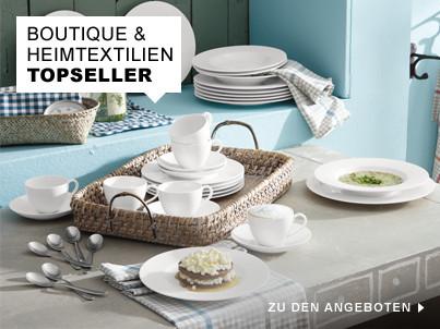 Topseller Boutique und Heimtextilien