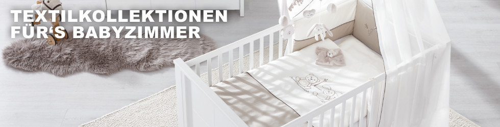 Textilkollektion fürs Baby