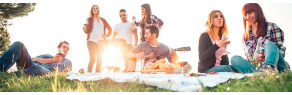 Udělejte si piknik s přáteli