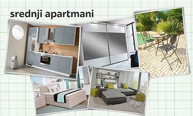 opremanje srednjeg apartmana