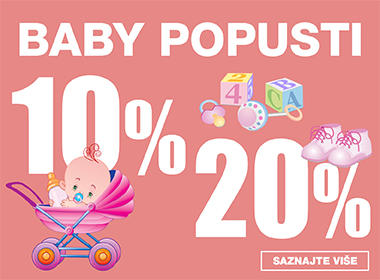 Baby popusti od 10 i 20% u Lesnini