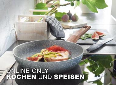 Online Only kochen und Speisen