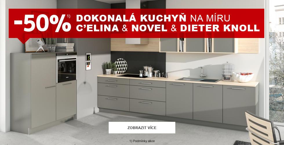 Sleva na plánované kuchyně
