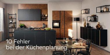 10 Fehler bei der Küchenplanung