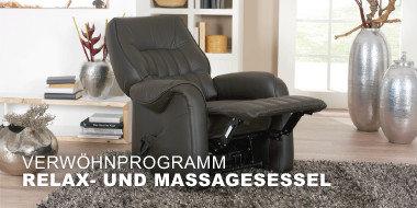 Verwöhnprogramm! Relax- und Massagesessel
