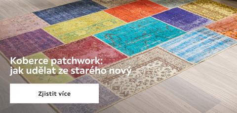 Koberce patchwork: Jak udelat ze stareho novy