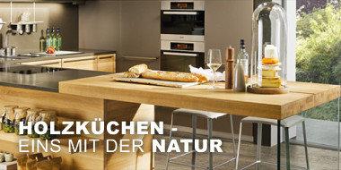 Holzküchen - Eins mit der Natur