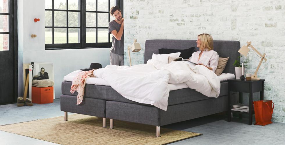 Objevte kontinentální postele v XXXLutz.