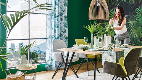 Green Living Esszimmer