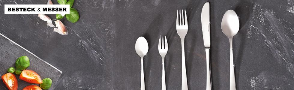 Günstige Besteck- und Messersets