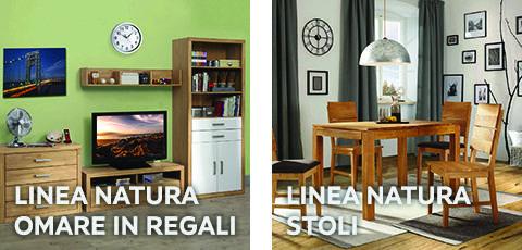 Linea Natura omare in stoli