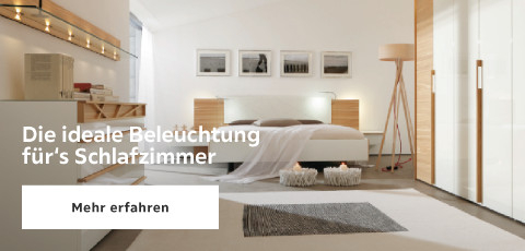 Beleuchting fuers Schlafzimmer