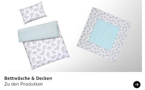 Bettwäsche & Decke von PATINIO