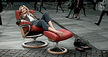 rstressless relaxsessel rot