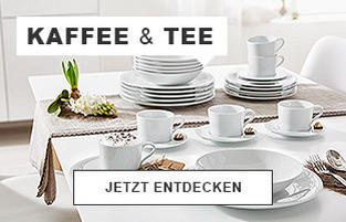 Kaffee & Tee - Jetzt entdecken