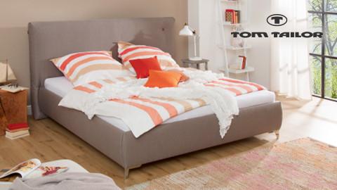 Tom Tailor Betten Rot Orange Weiß