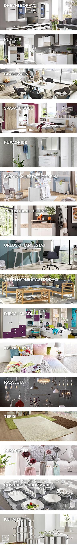 kategorije proizvoda u Lesnini XXXL