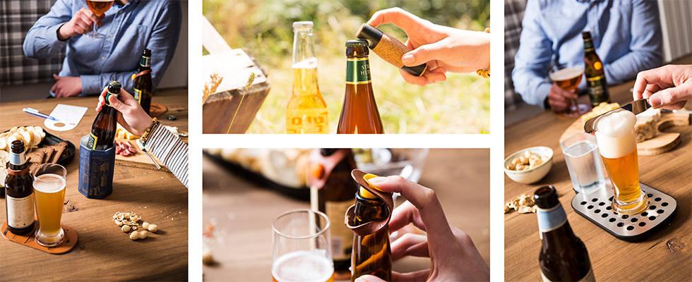 rashlađivač, otvarač i zatvarač za pivo