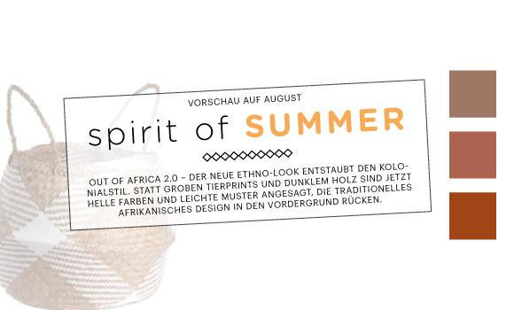 Spirit of Summer - hier entdecken