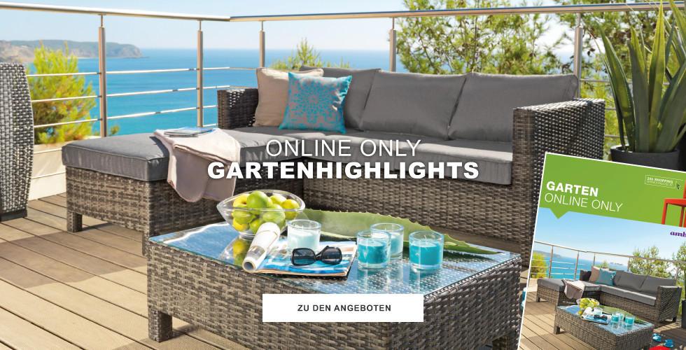 Online Only Gartenhighlights