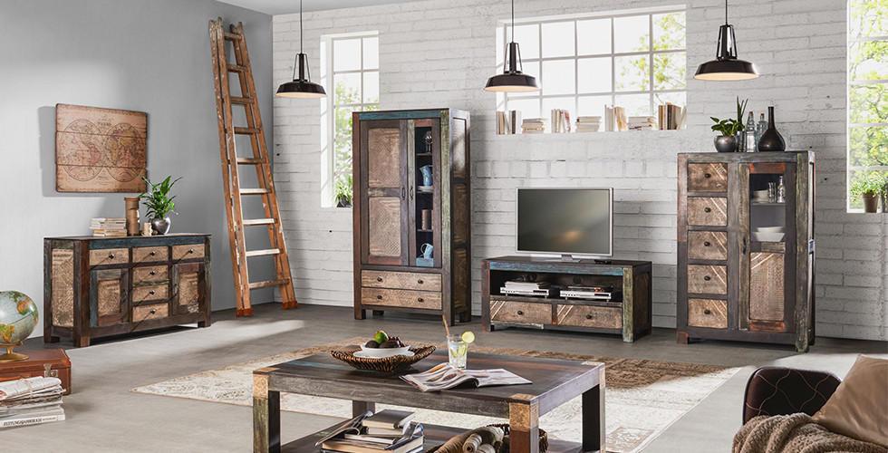 Různé styly a spousta úložného prostoru. Praktické a krásné obývací pokoje v XXXLutz.