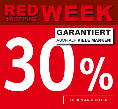RED SHOPPING WEK 30% auf Marken
