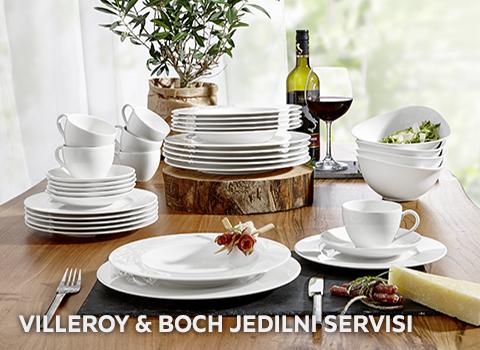 Villeroy & Boch jedilni servisi
