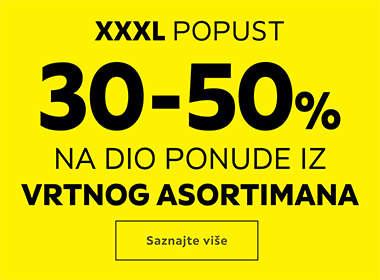 Veliko sezonsko sniženje vrtnog asortimana Lesnina XXXL