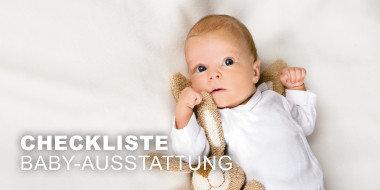 Checkliste Baby-Ausstattung