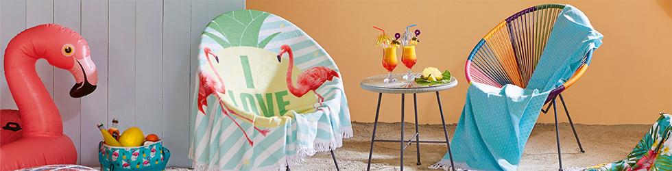 Handtücher Flamingo
