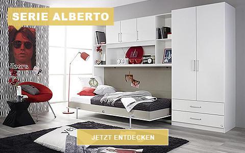 Jugendzimmerserie Alberto