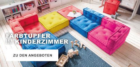 Farbtupfer im Kinderzimmer