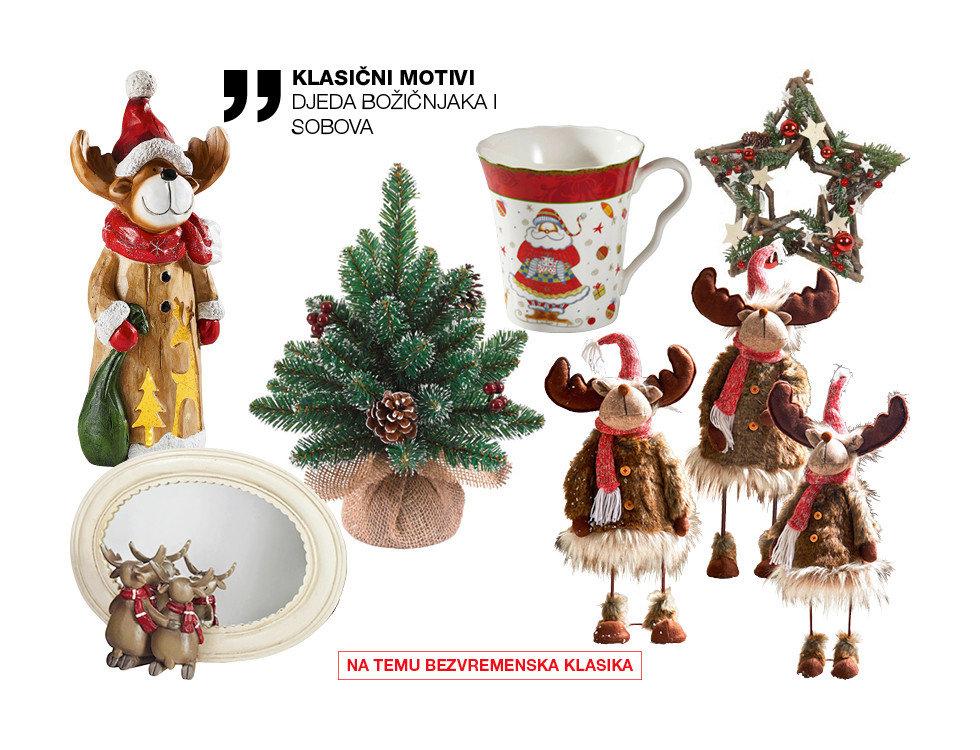 klasični božićni motivi