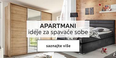 Apartmani - ideje za kuhinje u Lesnini