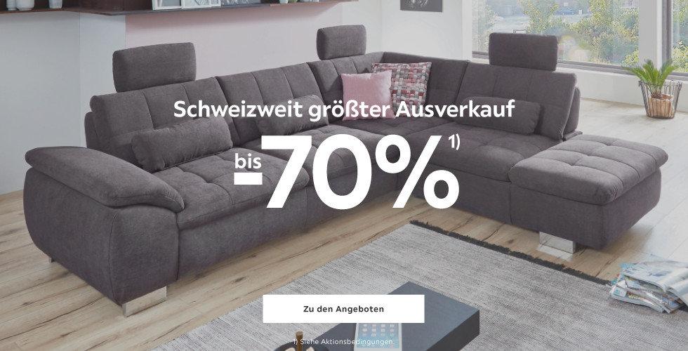 Schweizweit grösster Ausverkauf!