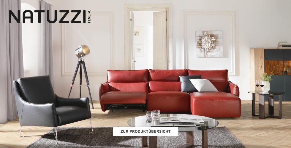 Natuzzi Produktuebersicht entdecken