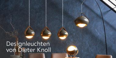 Designleuchten von Dieter Knoll