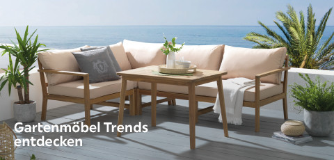 Gartenmöbel Trends