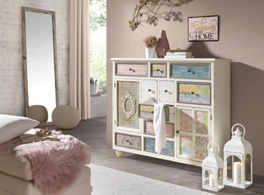 Pohištvo v pastelnih tonih