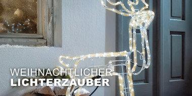 Weihnachtlicher Lichterzauber