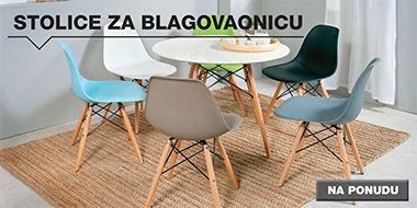 moderne stolice za blagovaonicu