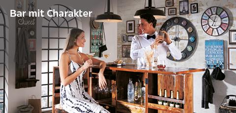 Bar mit Character