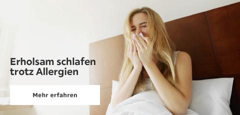 Erholsam schlafen trotz Allergien