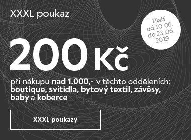 XXXL poukazy
