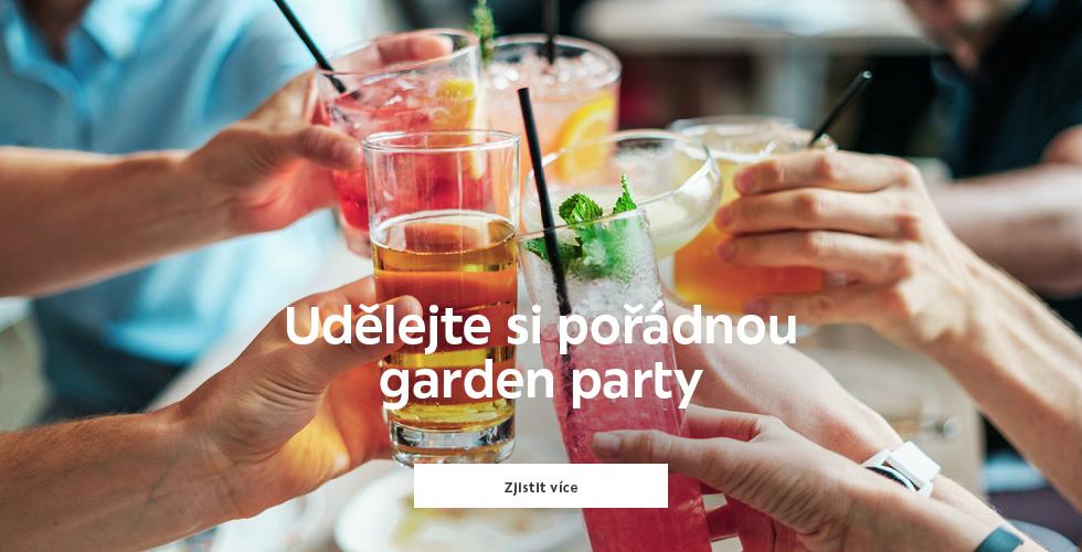 Užijte si pořádnou garden party