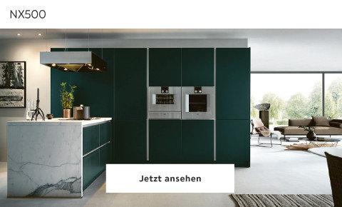 Next grüne Lackküche NX500