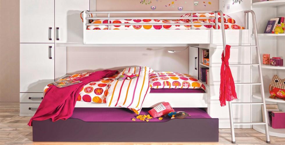 XXXLutz hat Kinderbett-Lösungen für jedes Platzangebot.