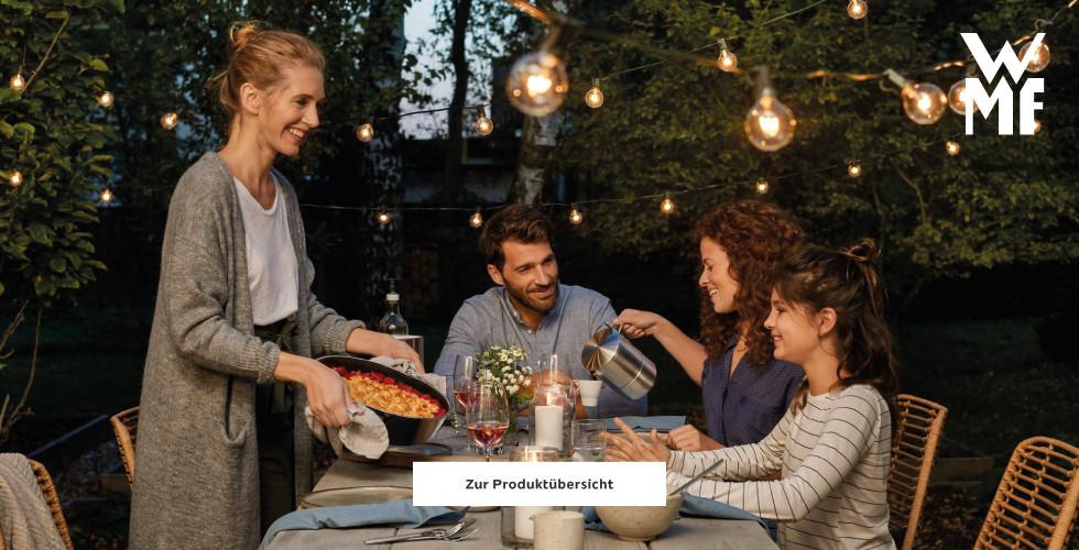 Grillpartys mit WMF an lauen Sommerabenden