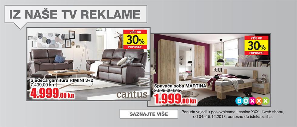 TV reklama Lesnina XXXL akcija
