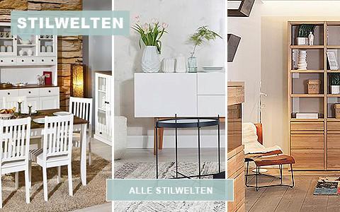 Stilwelten verschiedene Stile Einrichtungsmöglichkeiten